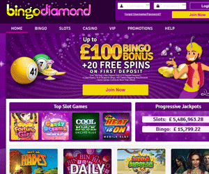 Bingo Diamond Home