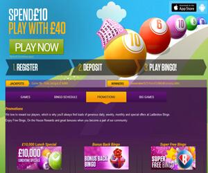 Ladbrokes Bingo promo