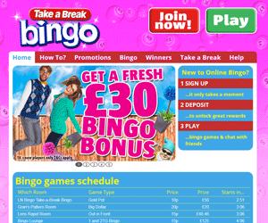 take a break bingo review | play the best bingo games!