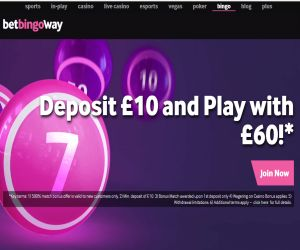 Betway Bingo New Bonus