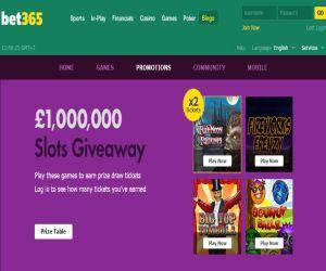 bet365 Bingo Slots giveaway