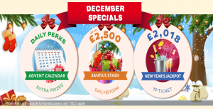 December Specials To Look Forward To