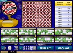 Ballistic Bingo Screenshot