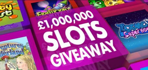 Bet365bingo's £1,000,000 Slots Giveaway