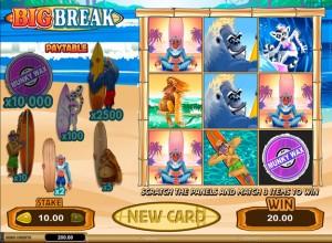 Big Break Scratch Cards Screenshot