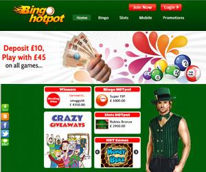 Bingo Hotpot Screenshot
