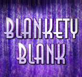 Blankety Blank Slots Logo