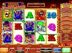 Captain Cannons Jackpot Slots Screenshot