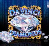 davinci diamonds bingo slots logo