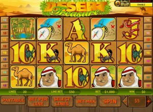 Desert Treasure Slots Screenshot