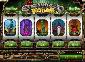Enchanted Woods Game Screenshot