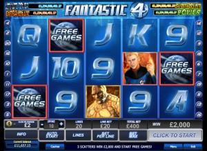 Fantastic 4 Slots Screenshot