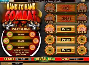Hand To Hand Combat Scratch Screenshot