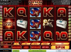 Iron Man Slots Screenshot