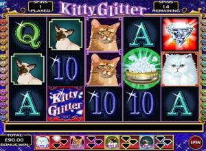 Kitty Glitter Slots Screenshot