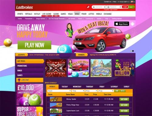 Ladbrokes Bingo New Bingo Site 2015