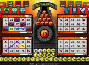 Mayan Bingo Screenshot