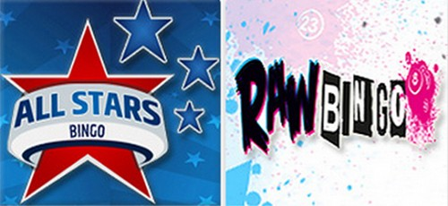 new bingo sites raw bingo and all stars bingo