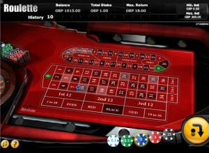Online Roulette Screenshot