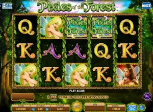 Pixies Of The Forest Slots Screenshot
