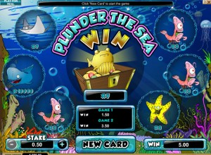 Plunder The Sea Scratch Card Game