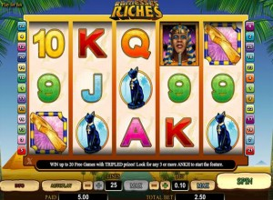 Ramesses Riches Slots Screenshot