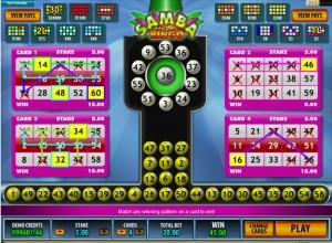 Samba Bingo Screenshot