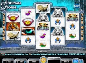 Siberian Storm Slots Screenshot