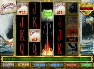 The War Of The Worlds Slots Screenshot