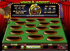 Whack A Jackpot Scratch Cards Screenshot