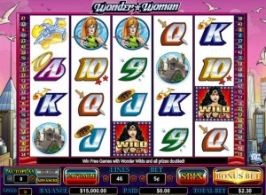 Wonder Woman Slots Screenshot