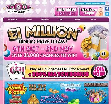 Ace of Bingo Screenshot