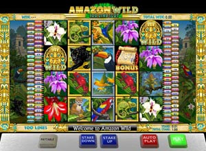 Amazon Wild Slots Screenshot