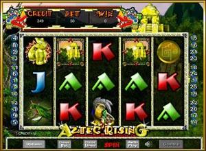 Aztec Rising Slots Screenshot