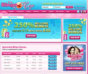 Bingo 4 Her Screenshot