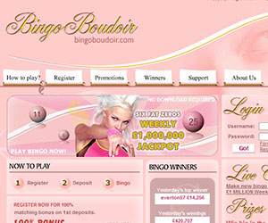 Bingo Boudoir Screenshot