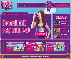 Bucky Bingo Screenshot