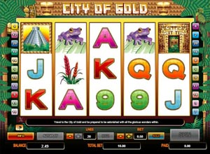 City of Gold slots Screenshot