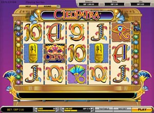 Cleopatra Slots Screenshot