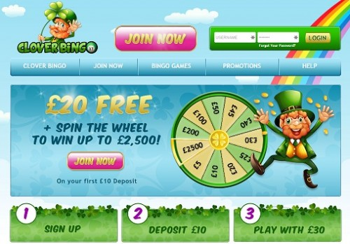Paddy Bingo changes name to Clover Bingo