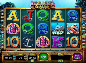 Deep Sea Treasure Slots Screenshot