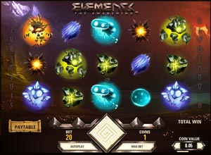 Elements Slots Screenshot