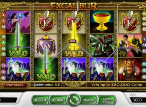 Excalibur Slots Screenshot