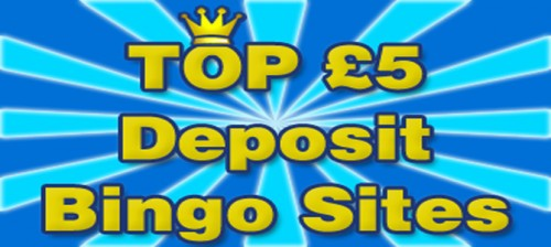 top 5 deposit bonus bingo sites
