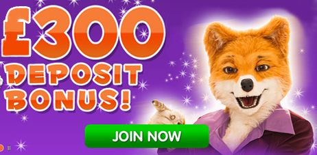 foxy bingo 300 deposit bonus