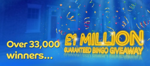 Gala Bingo 1 million guaranteed bingo giveaway