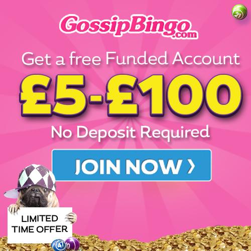 Gossip Bingo Free Funded Account