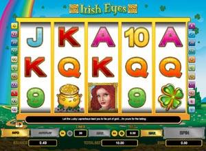 Irish Eyes Slots Screenshot