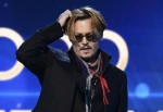 Johnny Depp slurs & swears his way through embarrassing Awards speech