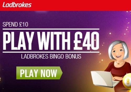 Ladbrokes Bingo Bonus Exclusive